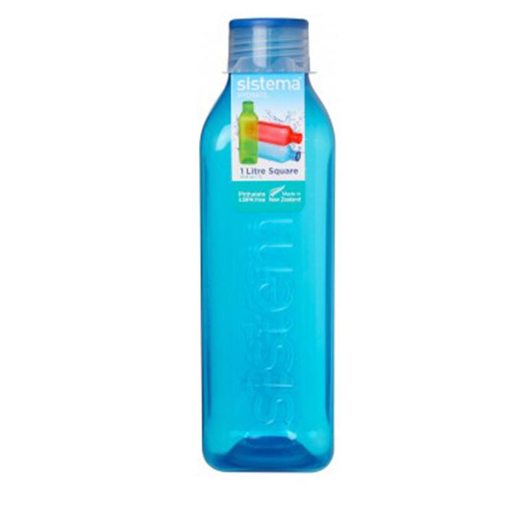 SISTEMA Square bottle 1liter