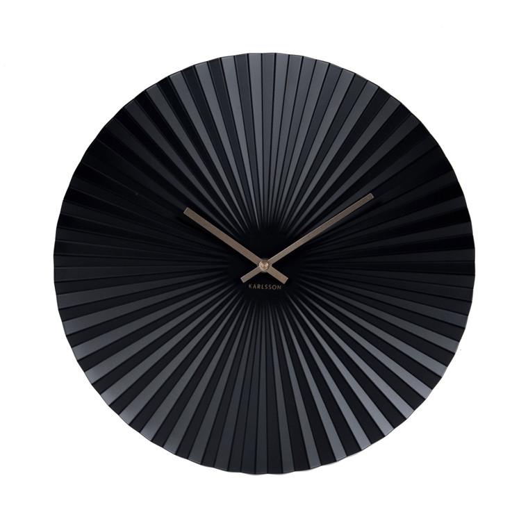 KARLSSON Vægur Sensu sort 40cm