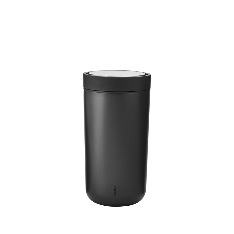 STELTON To Go Click 0,34 liter sort metallic