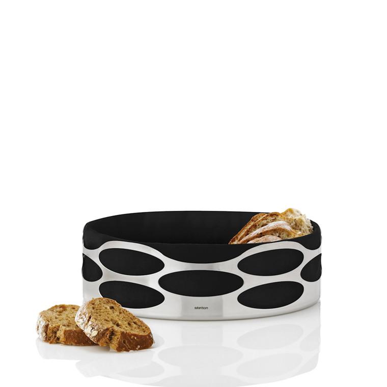 Stelton Embrace brødbakke sort