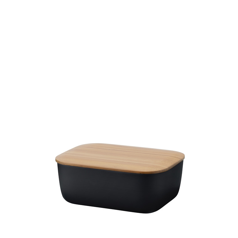 Stelton Box-it smørboks sort