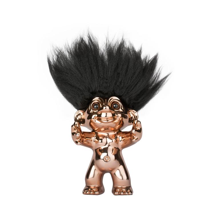 BY SOMMER Lykketrold bronze/sort hår 12 cm