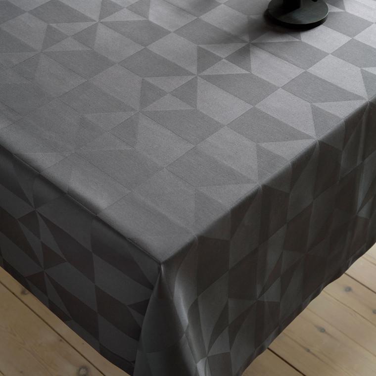 COMPLIMENTS Wind damaskdug 140 x 180 cm grå