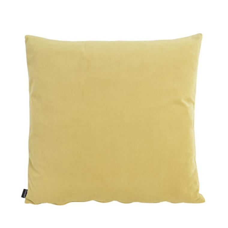 COMPLIMENTS Velvet pude 45 x 45 cm gul