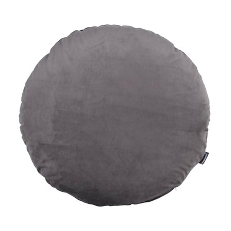 COMPLIMENTS Dory pude rund mørk grå Ø 50 cm