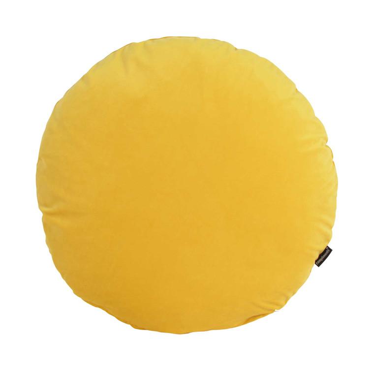 COMPLIMENTS Dory pude Ø 60 cm gul