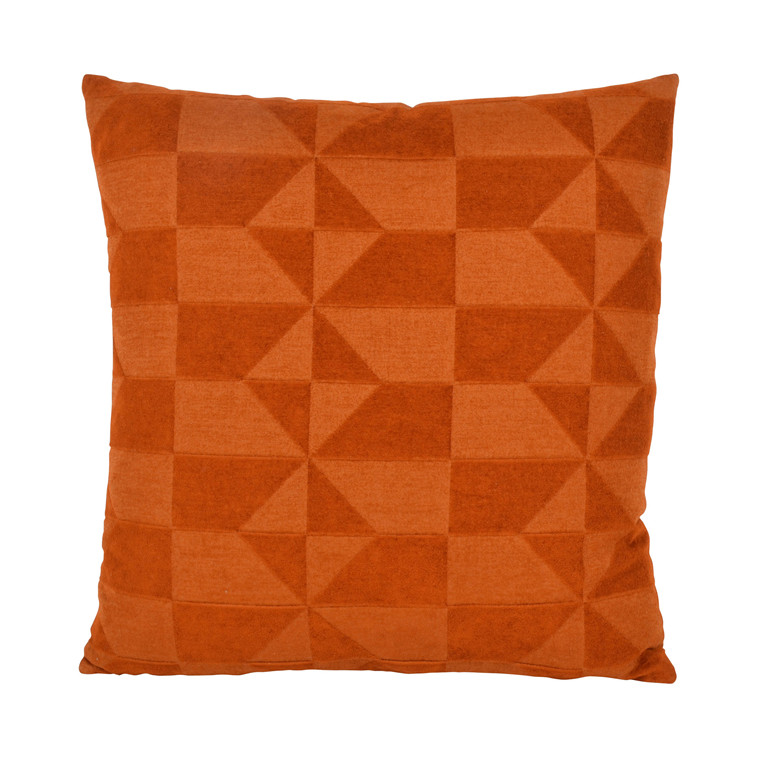 COMPLIMENTS Wind pude 50 X 50 cm orange