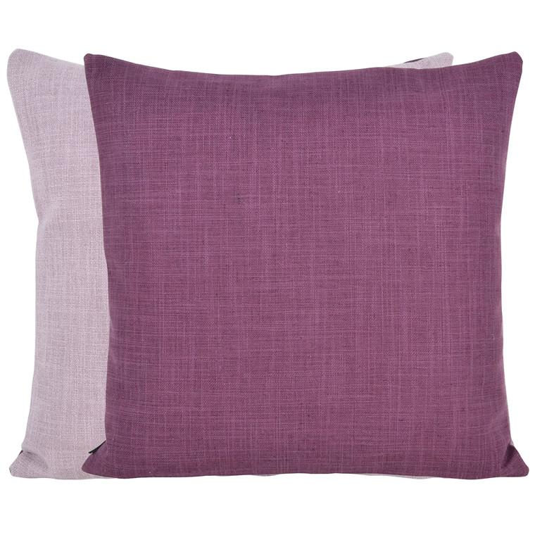 COMPLIMENTS Viola pude 45 X 45 cm vendbar rosa