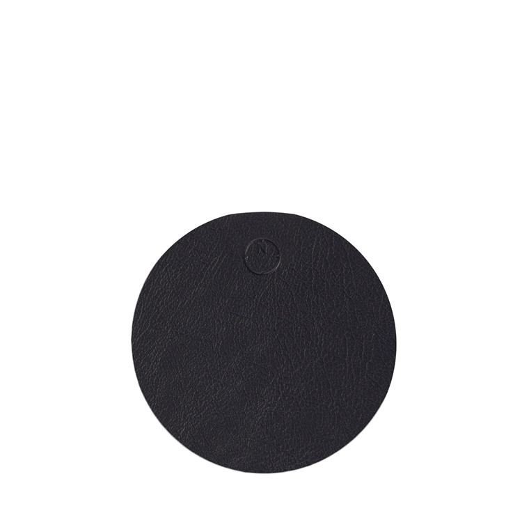 NOORT Cirkel glasbrik sort Ø10