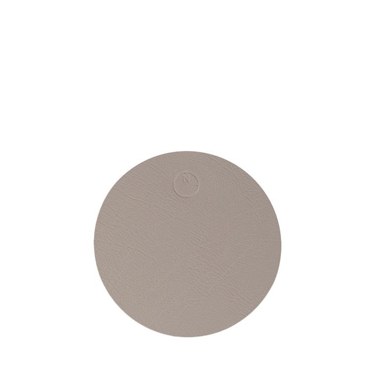 NOORT Cirkel glasbrik lys grå Ø10