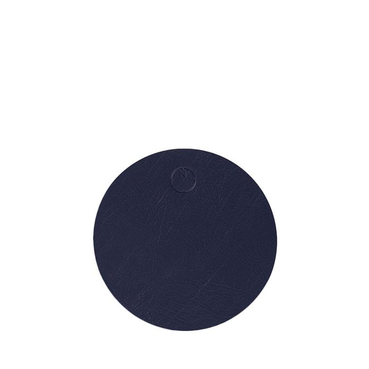 NOORT Cirkel glasbrik indigo blå Ø10