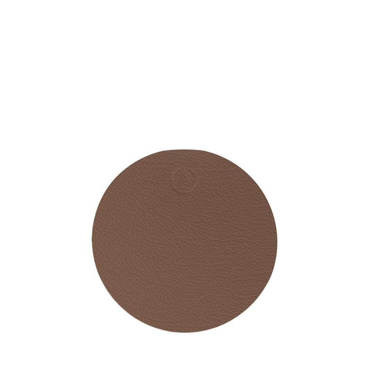 NOORT Cirkel glasbrik brun