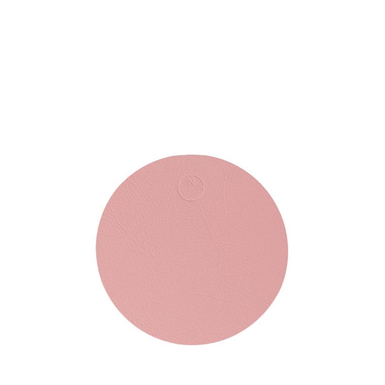 NOORT Cirkel glasbrik lys rød Ø10