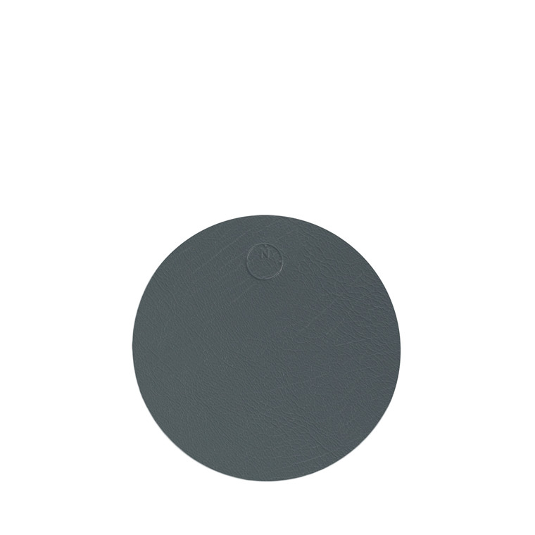 NOORT Cirkel glasbrik mørk grøn Ø10