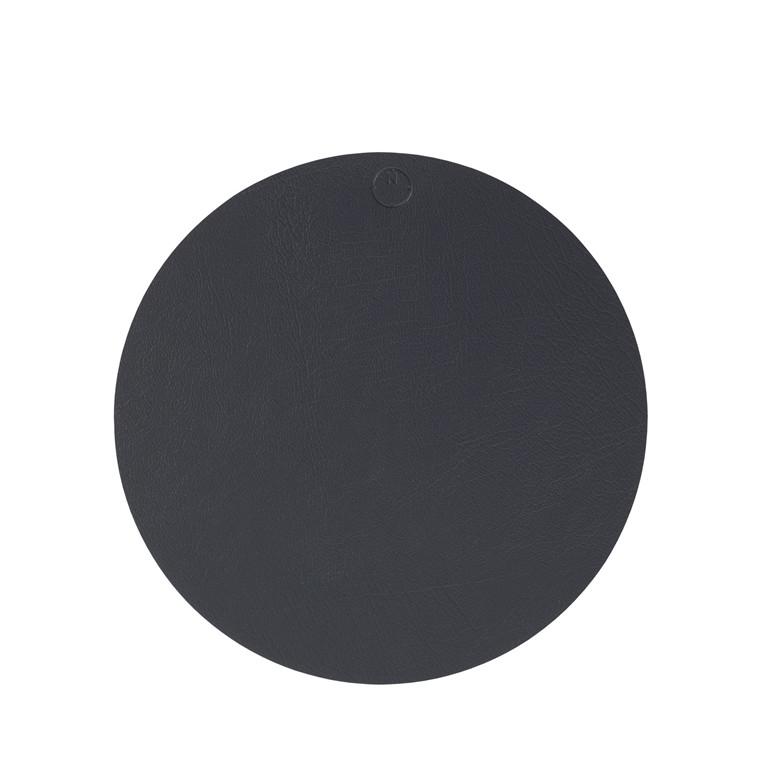 NOORT Cirkel dækkeserviet antracit Ø33