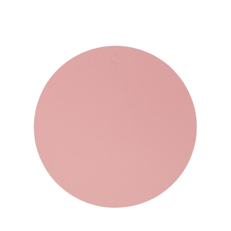 NOORT Cirkel dækkeserviet lys rød Ø33