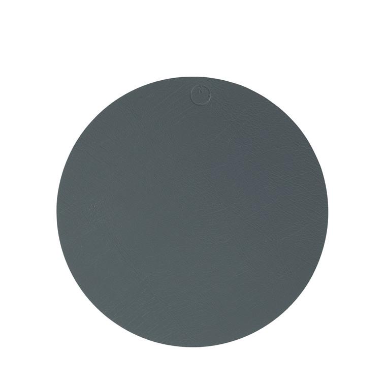 NOORT Cirkel dækkeserviet mørk grøn Ø33