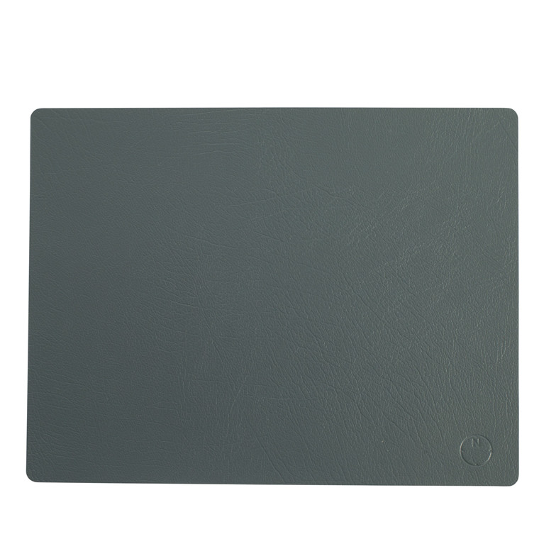 NOORT Square dækkeserviet mørk grøn 42x33