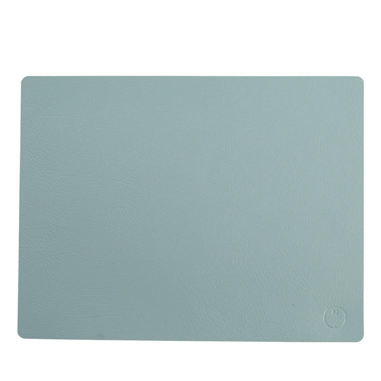 NOORT Square dækkeserviet lys blå 42x33