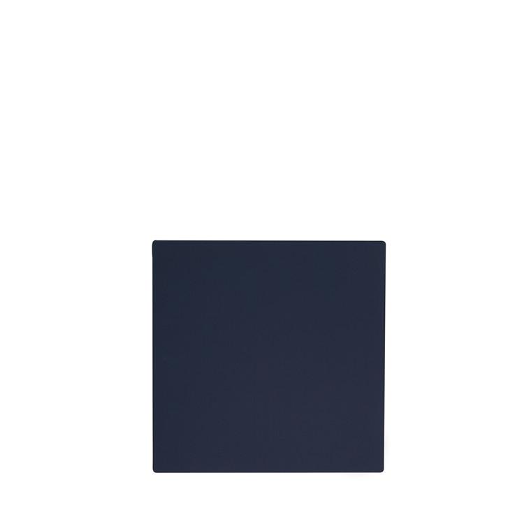 LIND DNA Softbuck square glasbrik navy blå