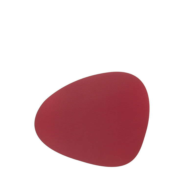 LIND DNA Nupo curve dækkeserviet stor rød
