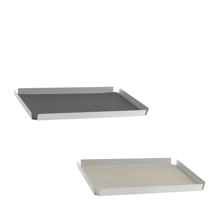 LIND DNA Square bakke large anthracite