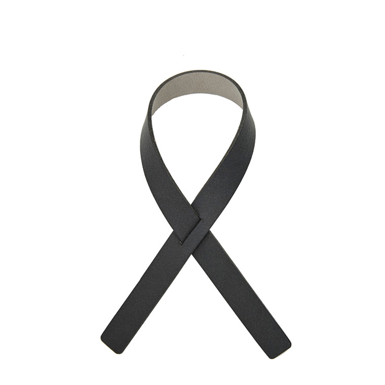 LIND DNA Nupo loop servietring antracit grå/lys grå 1stk