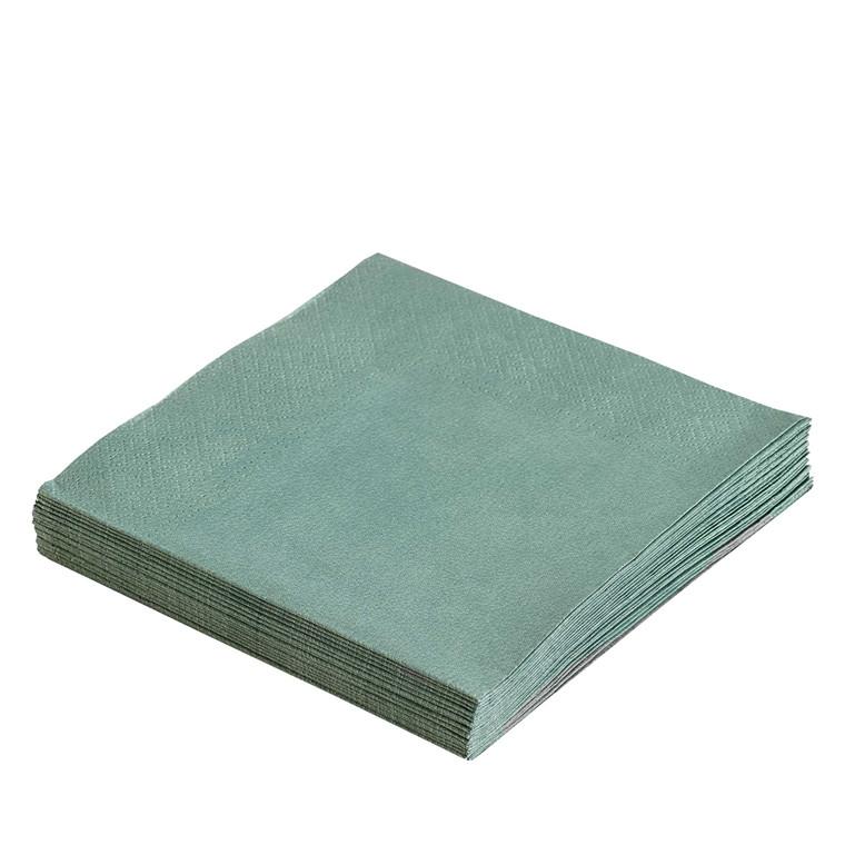 LIND DNA Paper servietter pastel grøn