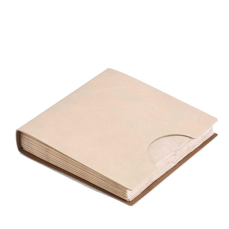 LIND DNA Napkin cover servietholder sand/brun