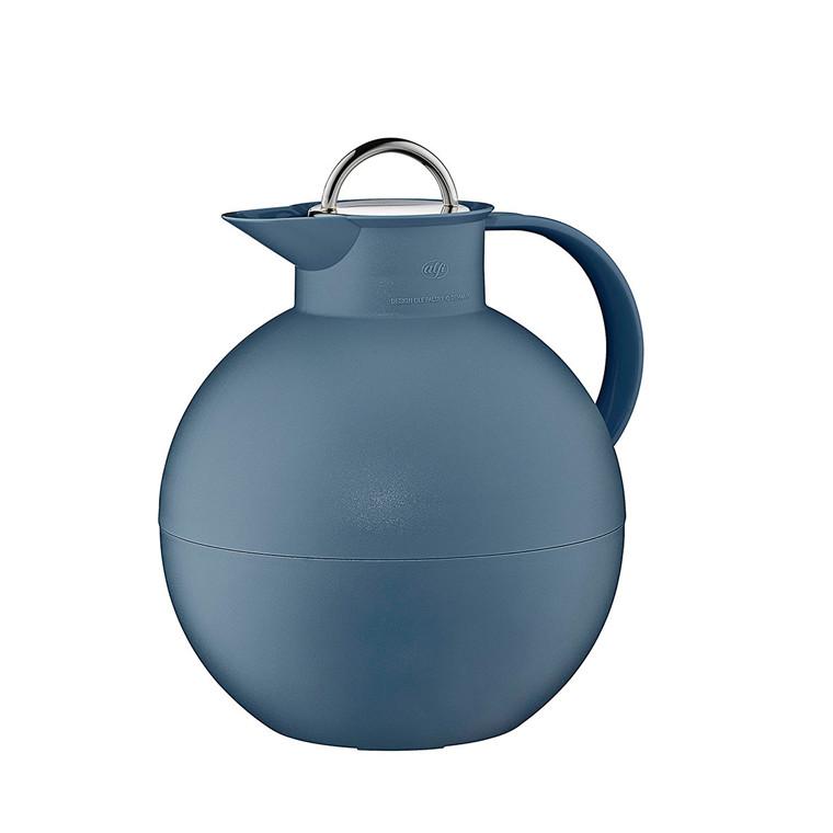 ALFI Kuglekande frost indigo blå med stållåg