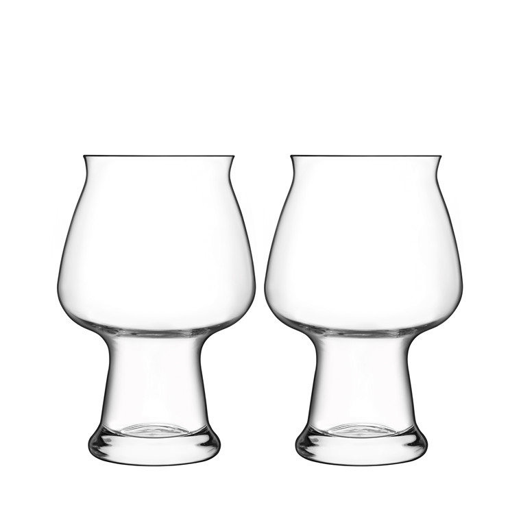 Luigi Bormioli Birrateque ølglas cider 2 stk