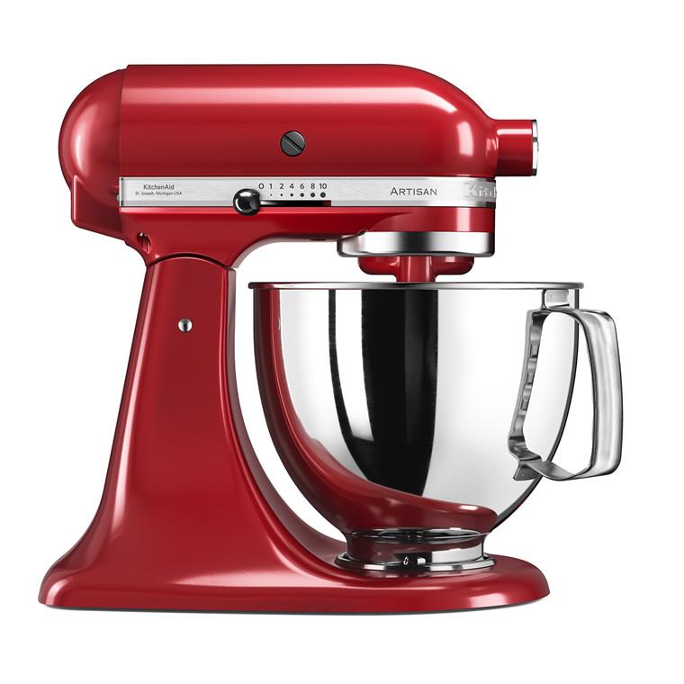 KITCHENAID Artisan køkkenmaskine rød 4,8 liter