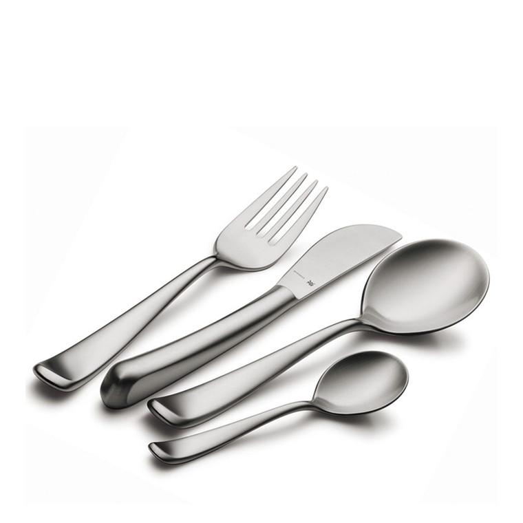 WMF Vision bestiksæt mat stål 24 dele