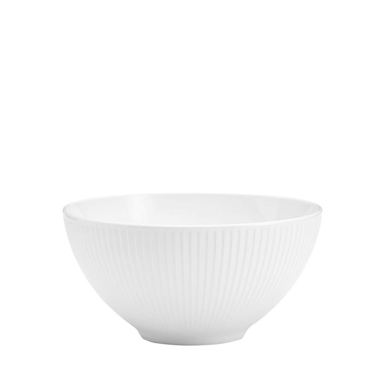 PILLIVUYT Plissé skål hvid 1,6 l