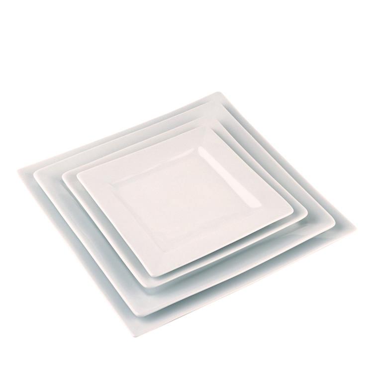 Pillivuyt Quartet firkantet tallerken 21 cm