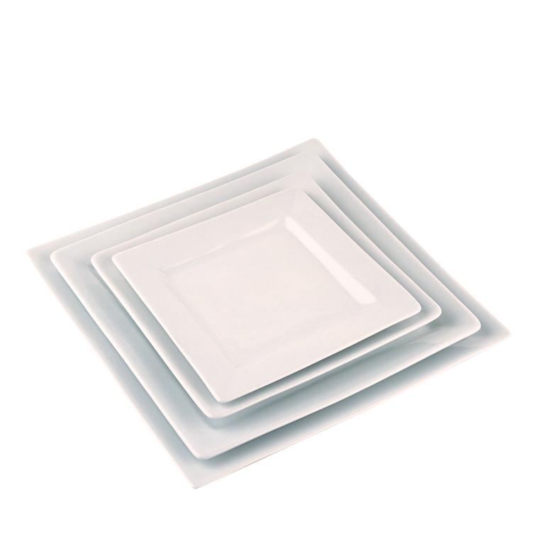 Pillivuyt Quartet firkantet tallerken 25 cm
