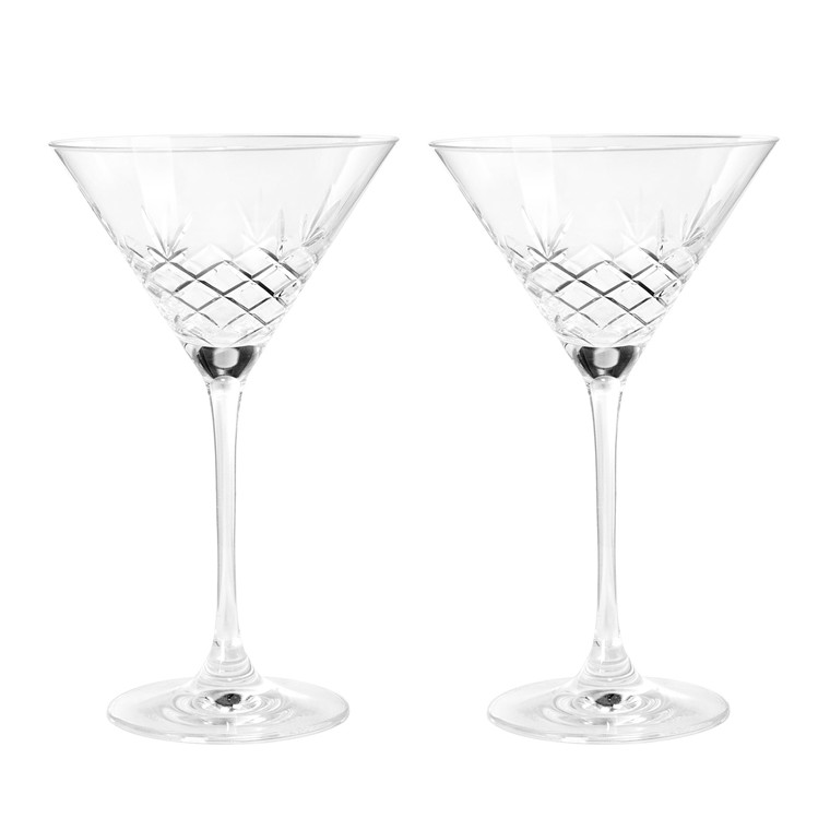 FREDERIK BAGGER Crispy Cocktailglas 2 pak krystalglas