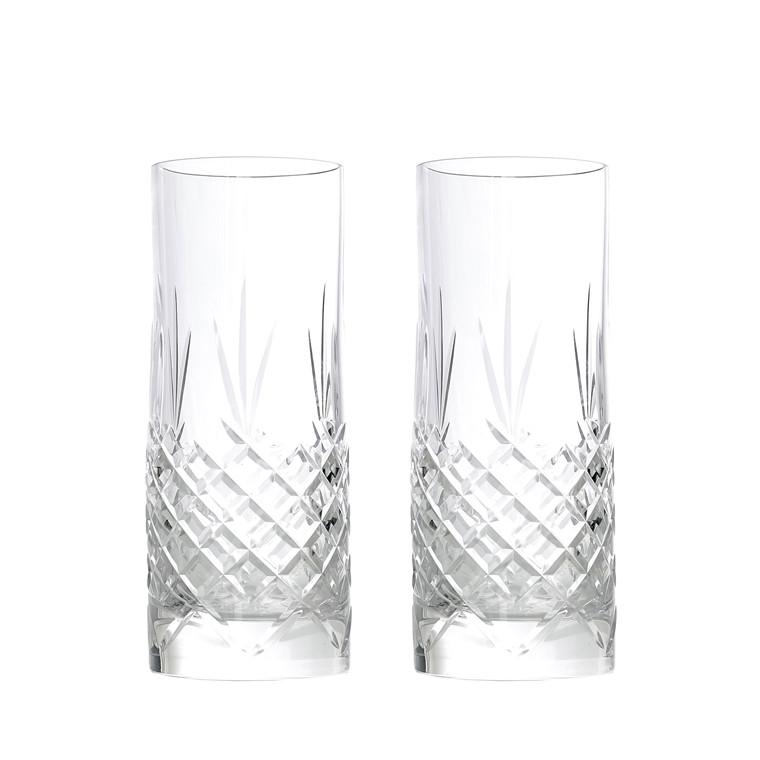 FREDERIK BAGGER Crispy Highball 2 pak krystalglas 37 cl