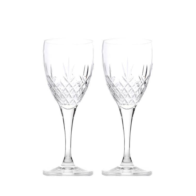 FREDERIK BAGGER Crispy hvidvinsglas 2 pak krystalglas 37 cl