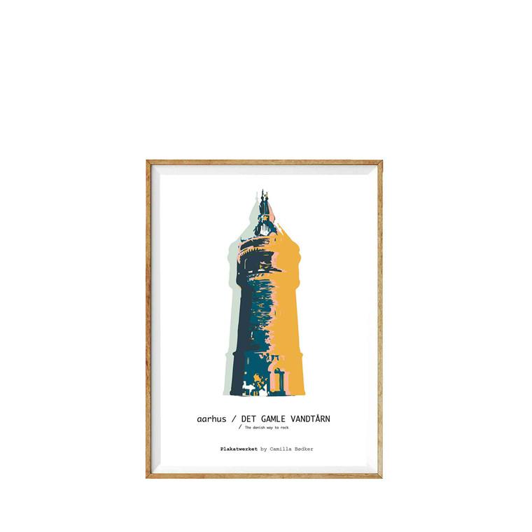 PLAKATWERKET Aarhus Den gamle vandtårn