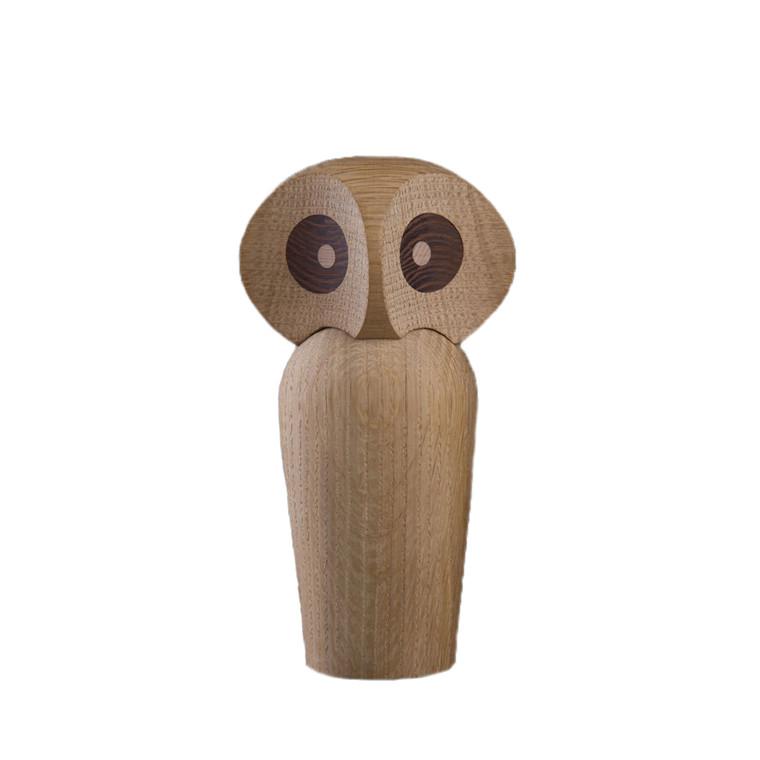 ARCHITECTMADE Owl stor håndlavet egetræ natur