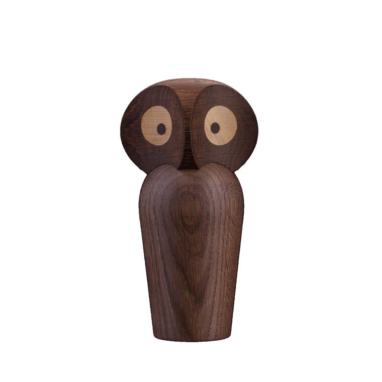 ARCHITECTMADE Owl stor håndlavet egetræ røget