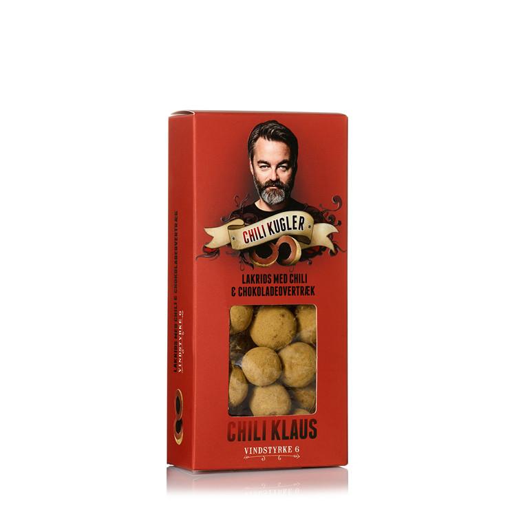 CHILI KLAUS 1 æske Chilikugler v 6