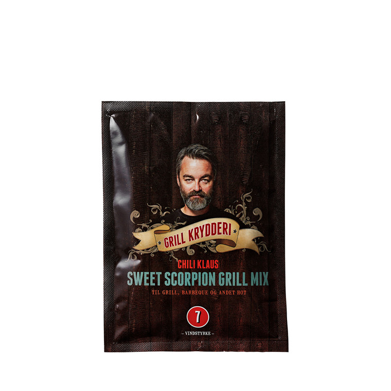 CHILI KLAUS Sweet Scorpion mix grillkrydderi v. 7