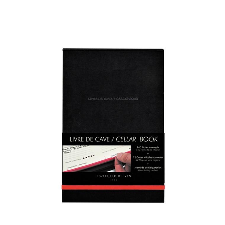 L'ATELIER DU VIN Livre de Cave Cellar Book