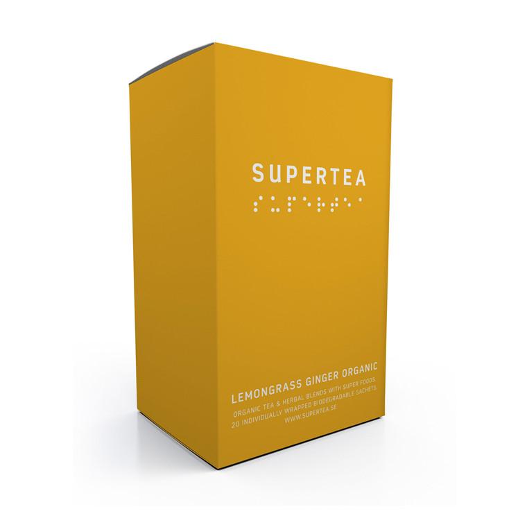 SUPERTEA Lemongrass ginger organic
