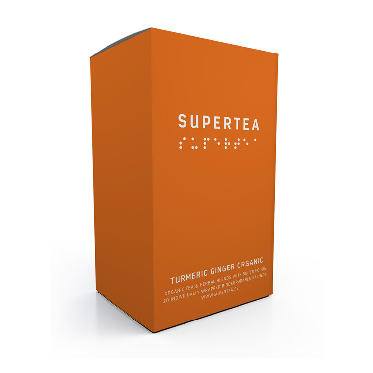 SUPERTEA Turmeric ginger organic