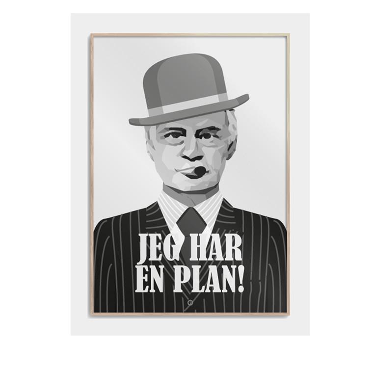 CITATPLAKAT Jeg har en plan B2