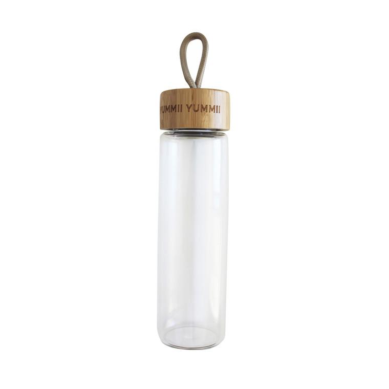 YUMMII YUMMII Glasflaske 0,6 l