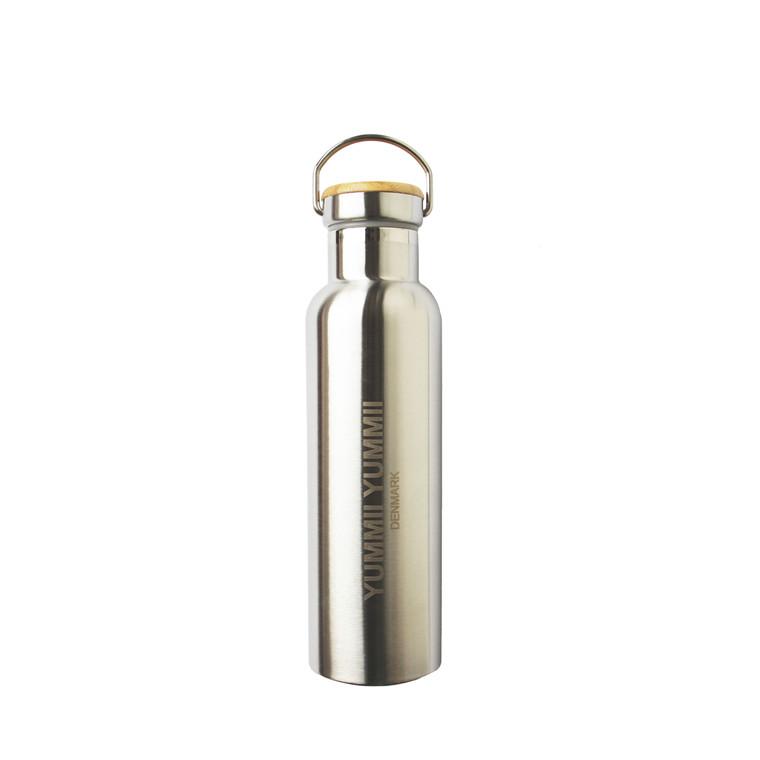 YUMMII YUMMII Thermoflaske 0,6 l trælåg